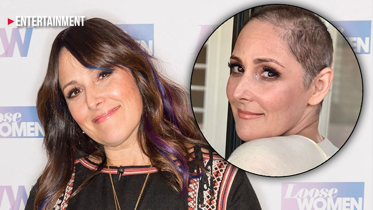 Ricki Lake shaves her head after revealing hair loss struggle