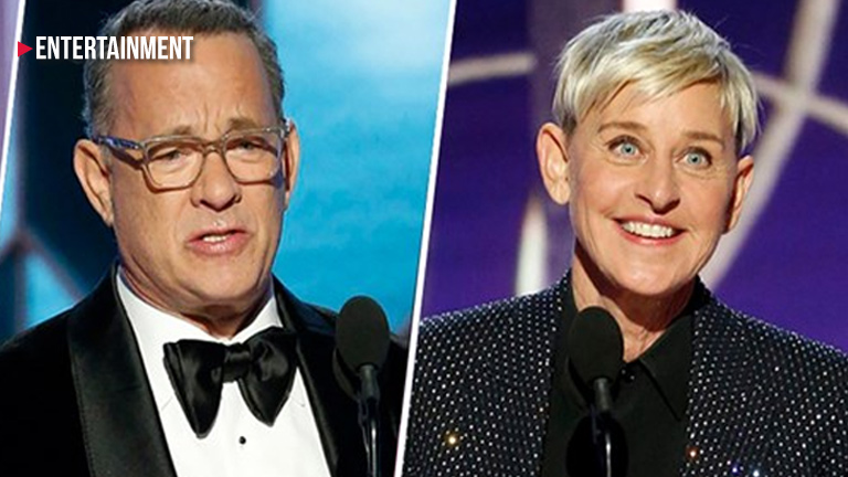Tom Hanks, Ellen DeGeneres to be Honored at Golden Globe Awards