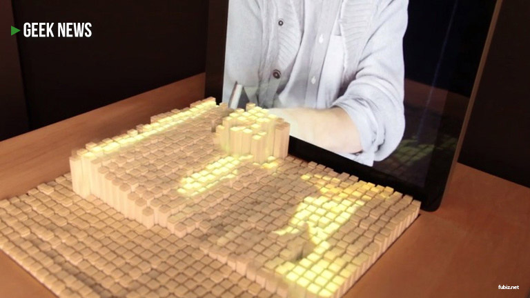 inFORM - Interactive Dynamic Shape Display