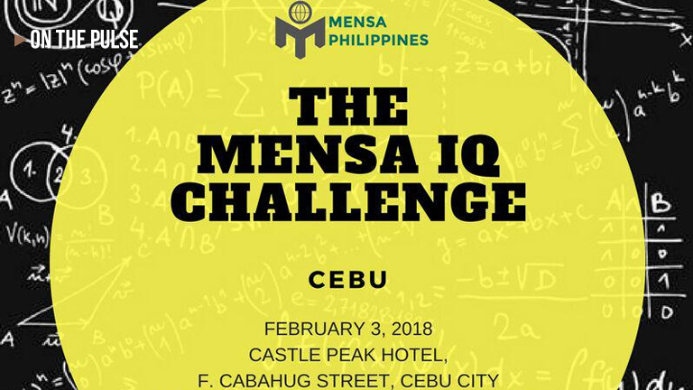 the Mensa IQ challenge