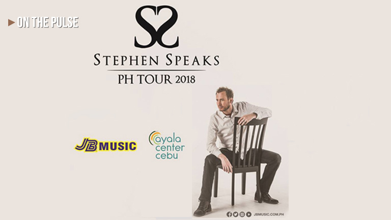 Stephen Speaks live at Ayala Center Cebu