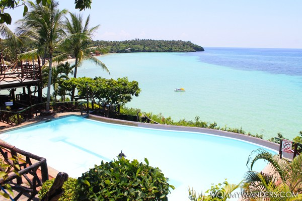 INFINITY POOL SANTIAGO BAY GARDEN RESORT CAMOTES