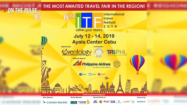 The International Travel Festival 2019 on its 1st day!