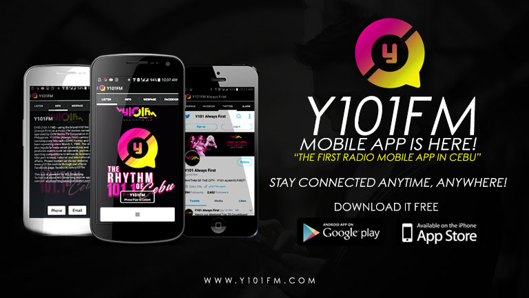 download the Y101FM app now