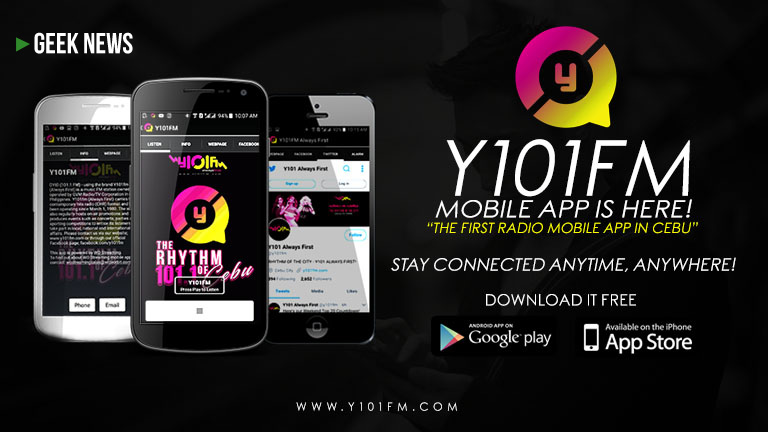 Y101FM app is the best