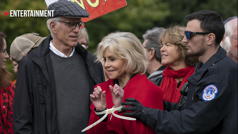 Ted Danson and Jane Fonda arrested while protesting climate change