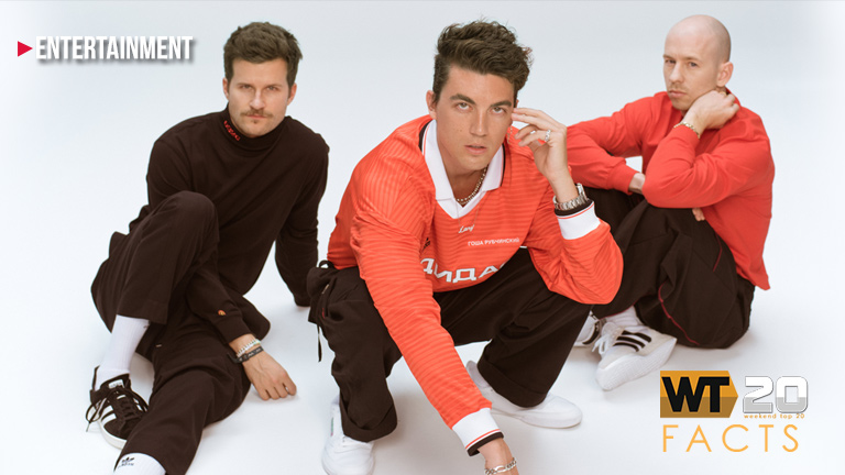 LANY spends its third week atop the WEEKEND TOP 20